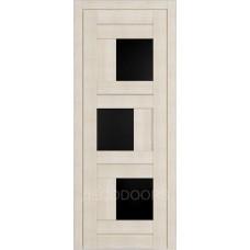 Дверь Д-3 (стекло лакобель черная)