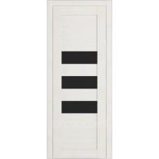 Дверь Д-4 (стекло лакобель черная)