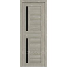 Дверь Д-5 (стекло лакобель черная)
