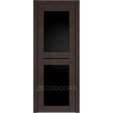 Дверь Д-6 (стекло лакобель черная)