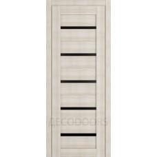Дверь Д-1 (стекло лакобель черная)