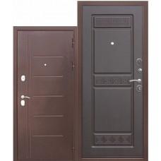 Входная металлическая дверь Троя 10 см антик медь (венге)