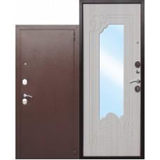 Входная металлическая дверь Ампир (белый ясень)