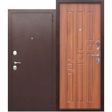 Входная металлическая дверь Гарда 8 мм (рустикальный дуб)