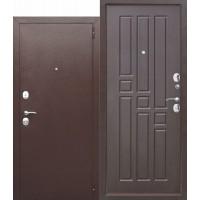 Входная металлическая дверь Гарда 8 мм (венге)