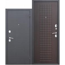 Входная металлическая дверь Гарда Муар 8 мм (венге)