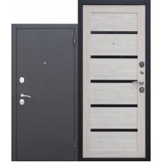 Входная металлическая дверь Гарда муар царга (лиственница мокко)