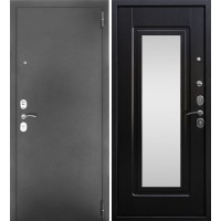 Входная металлическая дверь Тайгер Дива серебро (орех рифленый)