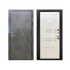 Входная металлическая дверь Модерн (лофт белый)