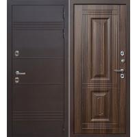 Входная металлическая дверь Термо New (статус коньяк)