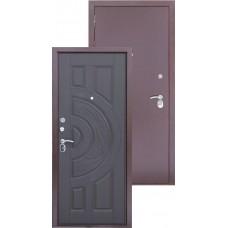 Входная металлическая дверь Трио медь (венге)
